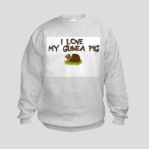 Guinea Pig Love Kids Sweatshirt