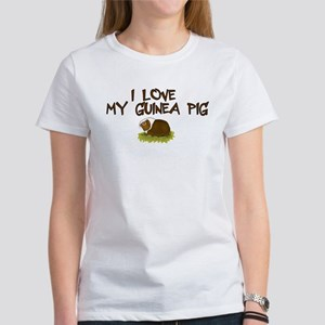 Guinea Pig Love Women's T-Shirt