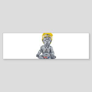 dump trump baby Bumper Sticker