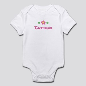 "Pink Daisy - ""Teresa"" Infant Bodysuit"
