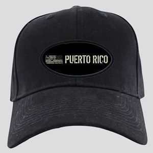 Black Flag: Puerto Rico Black Cap with Patch