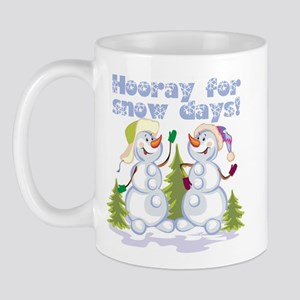 HOORAY for Snow Days! Mug