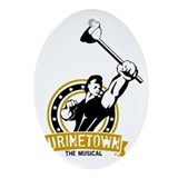 Urinetown Oval Ornaments