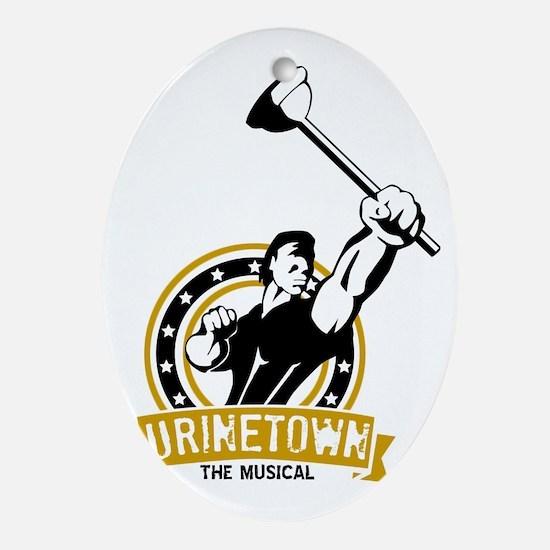 U-Town-logo-3 Oval Ornament