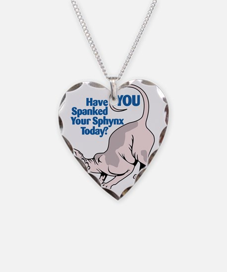 Spank your Sphynx Spotted Necklace