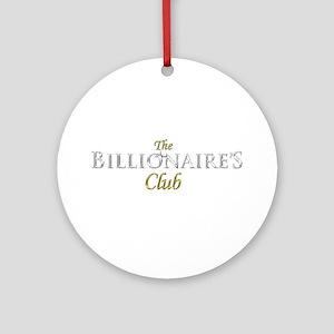 The Billionaire's Club Logo Ornament (Round)