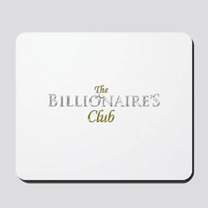 The Billionaire's Club Logo Mousepad