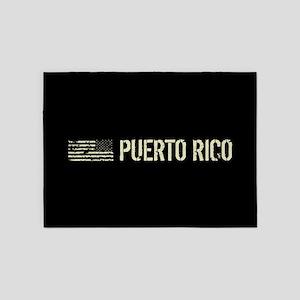 Black Flag: Puerto Rico 5'x7'Area Rug