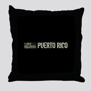 Black Flag: Puerto Rico Throw Pillow