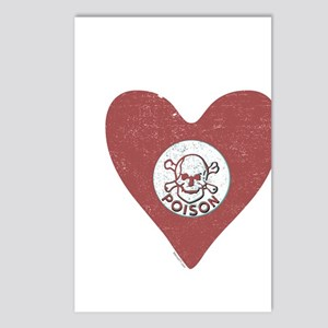 Poison Heart Postcards (Package of 8)