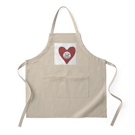 Poison Heart BBQ Apron