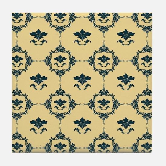 FLEUR DE LYS Tile Coaster