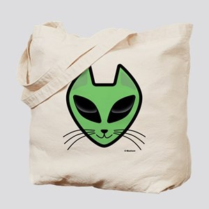 AlienKitty Tote Bag