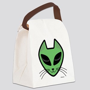 AlienKitty Canvas Lunch Bag