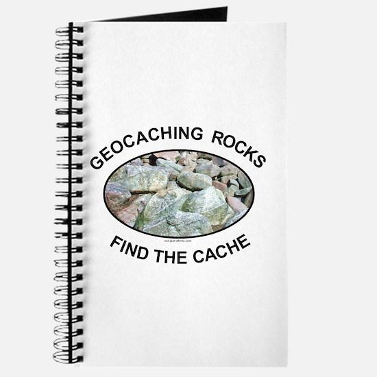 Geocaching Rocks Journal