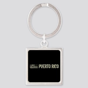 Black Flag: Puerto Rico Square Keychain