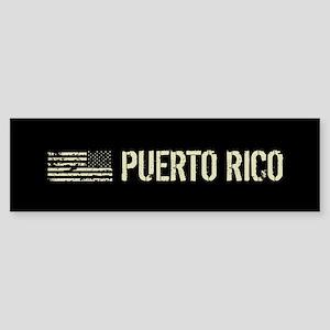 Black Flag: Puerto Rico Sticker (Bumper)