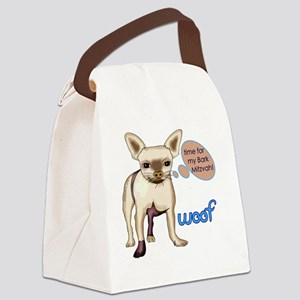 chihuahua-short-coat Canvas Lunch Bag