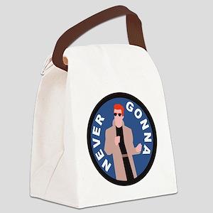 Rickroll Canvas Lunch Bag