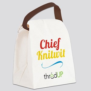 chief-knitwit Canvas Lunch Bag