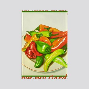 Chiles Rectangle Magnet