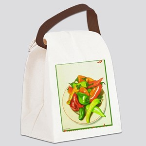 Chiles Canvas Lunch Bag