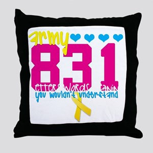 army831edit Throw Pillow