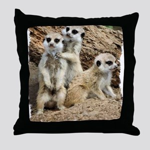 I LOVE MEERKATS! Throw Pillow