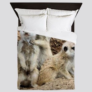 I LOVE MEERKATS! Queen Duvet