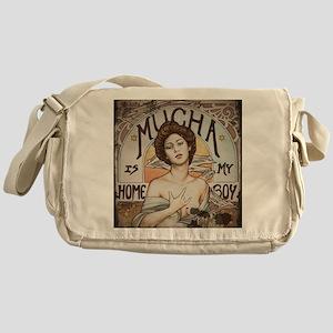 Vintage Mucha Messenger Bag
