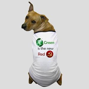 greennewredshirt Dog T-Shirt
