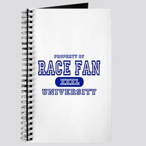 Race Fan University T-Shirts Journal