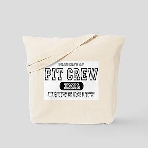 Pit Crew University Tote Bag