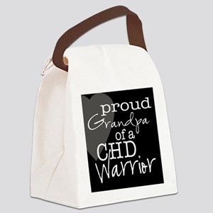 proud grandpa copy Canvas Lunch Bag