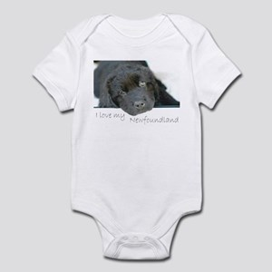 I love my Newfoundland puppy Infant Bodysuit