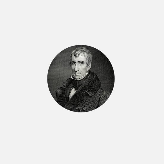 Majr Genl William Henry Harrison by RW Mini Button