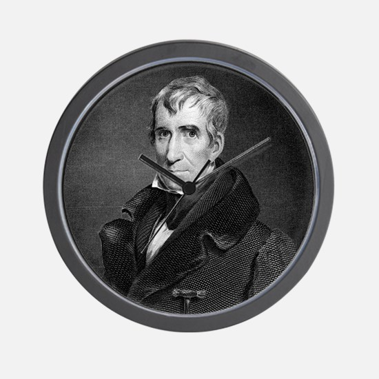 Majr Genl William Henry Harrison by RW  Wall Clock