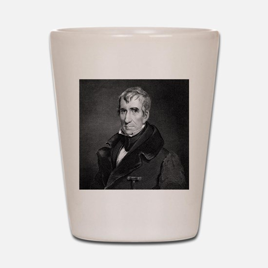 Majr Genl William Henry Harrison by RW  Shot Glass