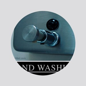 """hand-washing-humor-infection-lg2 3.5"""" Button"""