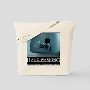 hand-washing-humor-infection-lg2 Tote Bag