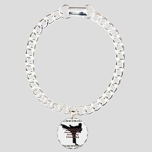 TraditionalTKDTenantsSha Charm Bracelet, One Charm