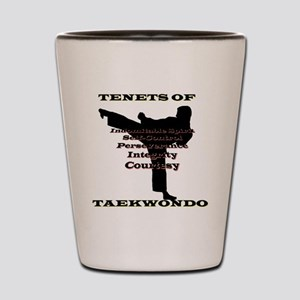 TraditionalTKDTenantsShadow Shot Glass