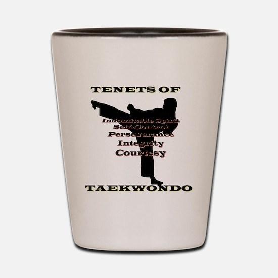 TraditionalTKDTenantsShadow Shot Glass