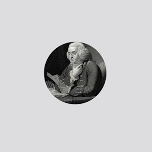 Benjamin Franklin by TB Welch after Ma Mini Button