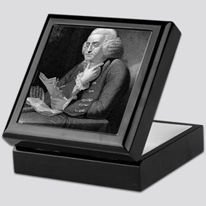 Benjamin Franklin by TB Welch after M Keepsake Box