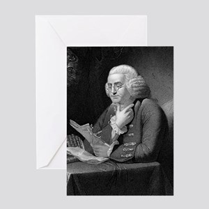 Benjamin Franklin by TB Welch after  Greeting Card