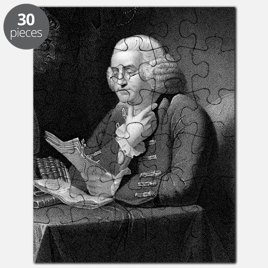 Benjamin Franklin by TB Welch after Martin Puzzle