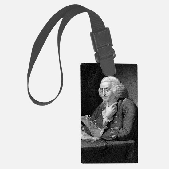 Benjamin Franklin by TB Welch af Luggage Tag
