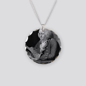 Benjamin Franklin by TB Welc Necklace Circle Charm