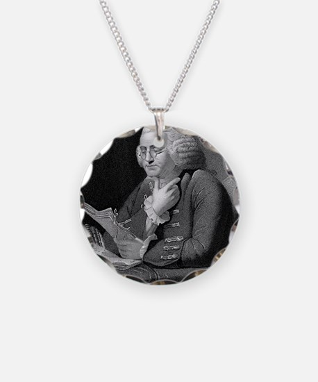Benjamin Franklin by TB Welc Necklace